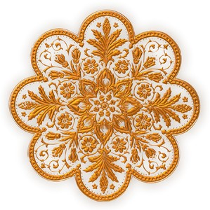 Golden Ornamental Decal: An art nouveau, Victorian style golden decoration or decal. You may prefer:  http://www.rgbstock.com/photo/o6fn1Qa/Golden+Ornate+Border+21  or:  http://www.rgbstock.com/photo/nvi0UW8/Golden+Ornate+Border+2