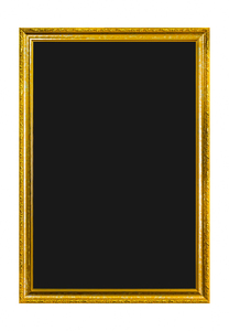 Blackboard: Blackboard in Gold Frame