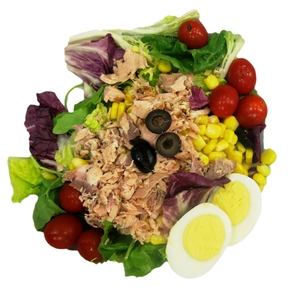 healthy fish salad