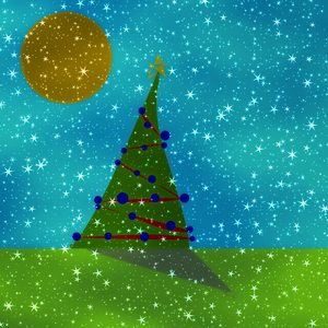 Fantasy Christmas Tree 6