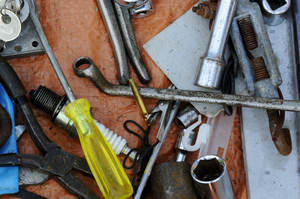 tools: old tools