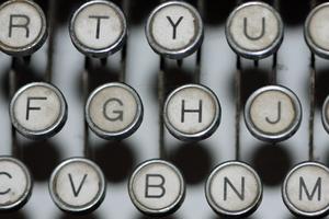 Vintage keyboard 1