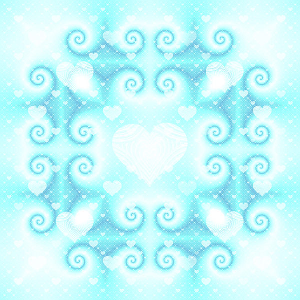 Heart Patterned Tile 3