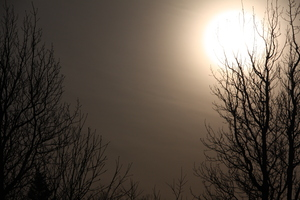 eclipse: taken in Iceland in the south