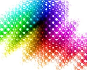 Rainbow Gradient Background 4