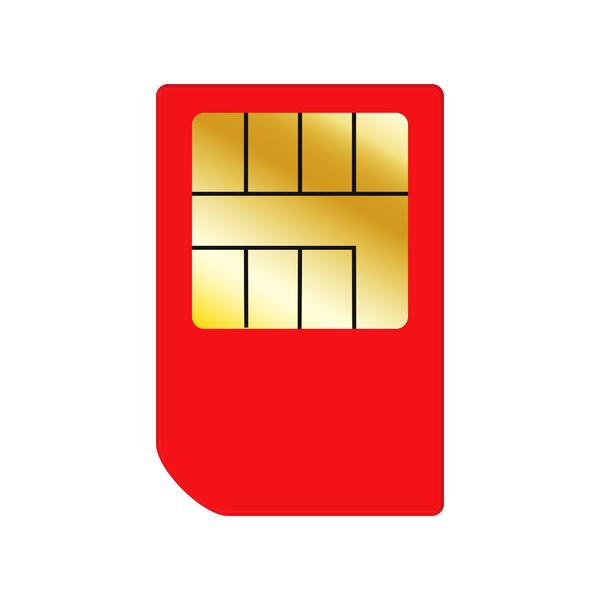 Red SIM Card