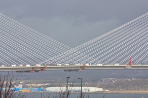 Cable stayed bridge cables