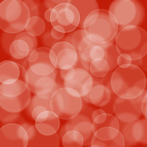 Red Bokeh: A bokeh background.