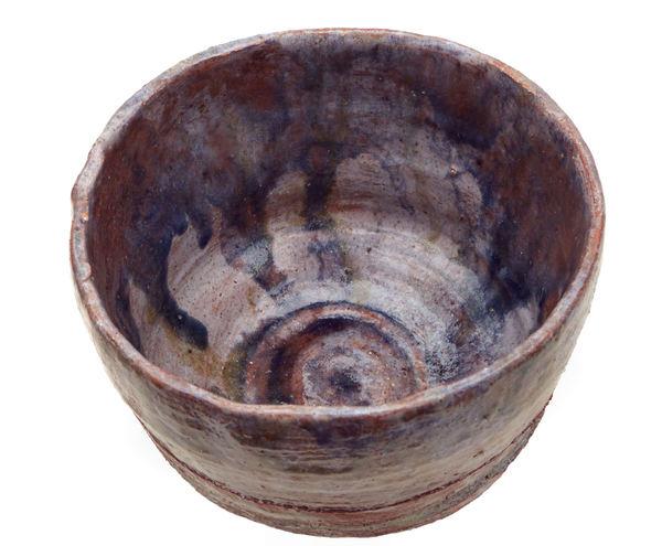 rough raku fired pot2