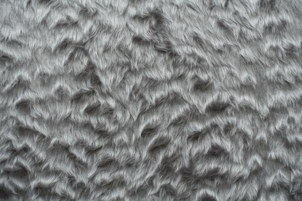 artificial silver fur