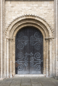 Cathedral doors
