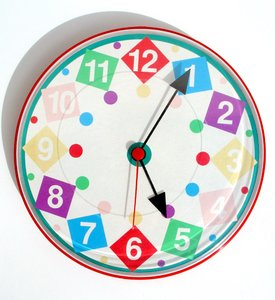 happy clock