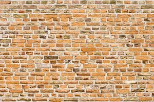 Brick wall: old brick wall
