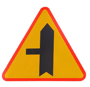 Minor Road Junction Sign