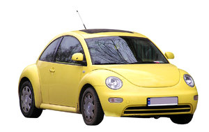 Yellow New Beetle