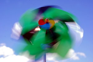 Pinwheel on the wind 2