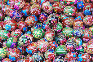 Easter eggs  2: Decorated eggs from Poland