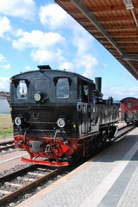 Steam locomotive in Germany 1