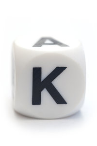 Character K on the cube