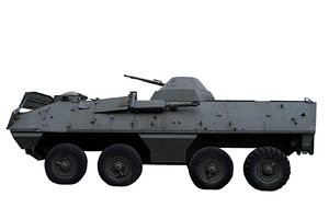 Amphibious armored personnel c