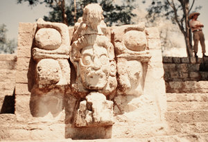 Pre-Columbian sculptures from