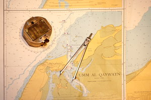 Old maritime map