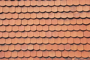 Tiles pattern: Roof tiles texture