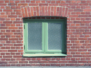 window in brickwall