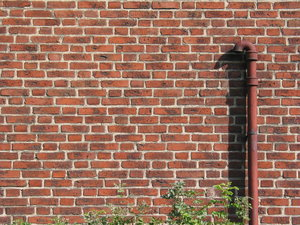 brickwall and pipe