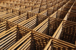 steel grid 1: reinforcement steel grid