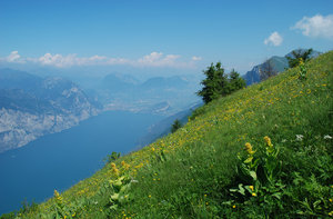 Monte Baldo: View from Monte Baldo, northern Italy.
