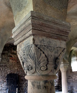 Romanesque capital Ilsenburg