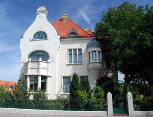 Art Nouveau house Blankenburg