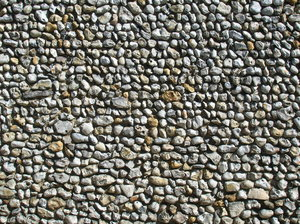 Pebble Dash Wall