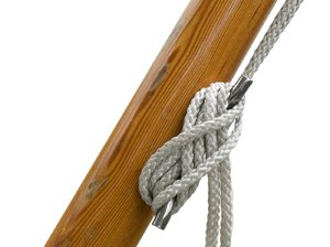 rope: rope on flag pole