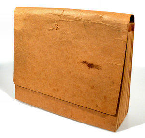 Old File Folder: A really old and worn file folder that I have had forever.