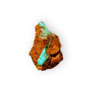 Turquoise with rock (2)