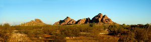 Butte Panorama: Here are some Panoramas taken north of Scottsdale Arizona