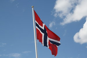 Norwegian flag: 17th of may - flags are everywhere!