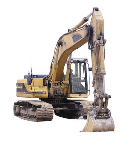 Excavator: A machine.