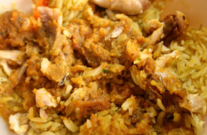 spicy chicken & rice