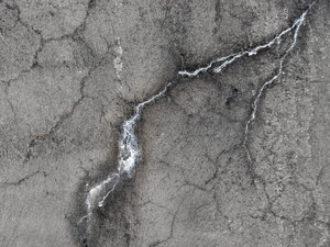 Cracks 3: Cracks in a concrete wall.
