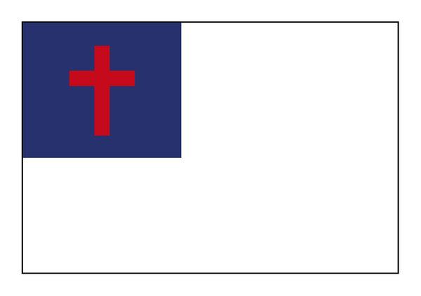 Christian Flag 1