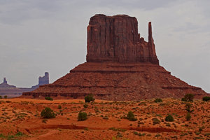 American dream 1: Landscape of Monument valley