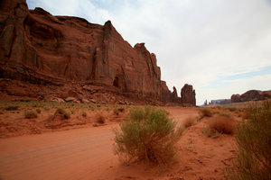 Moon's valley 1: Landscape of monument valley