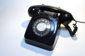 Old telephone 9