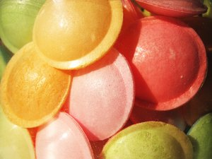 Acid powder sweets