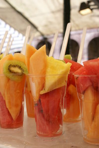 Fruits in a glass 4