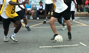 A Game Of Futsal