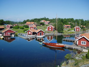 Fishermans village: Here you can buy smoked salmon.